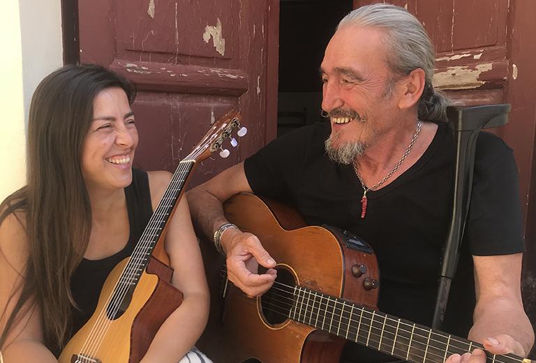 Barnasants - CLAUDIA CRABUZZA & PIETRO LEDDA 'BARABBA'